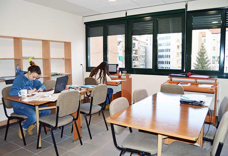 Residencia universitaria Porta Coeli Madrid